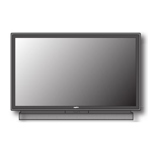 "PLV55WHD1 55"" Rear Projection Tv"