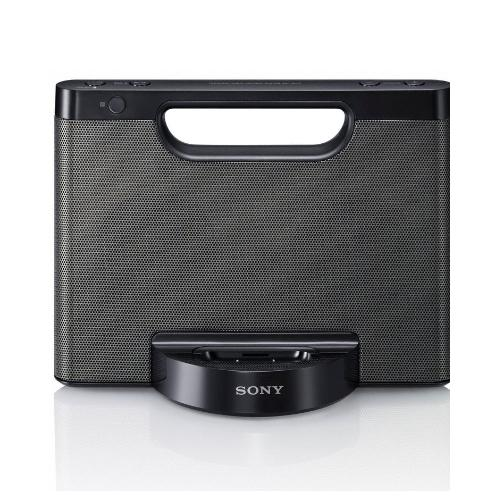 RDPM7IPBLK Portable Speaker Dock