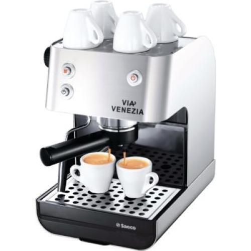 RI9367/47 Saeco Via Venezia Manual Espresso Machine Stainless Steel