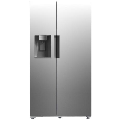 SBS263SS Toscana 26.3 Cft Side-by-side Refrigerator Stainless Steel