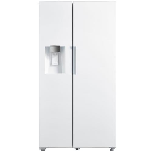 SBS263W Toscana 26.3 Cft Side By Side Refrigerator White