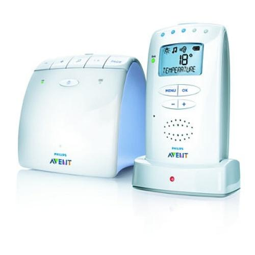 SCD520/00 Avent Dect Baby Monitor Temperature