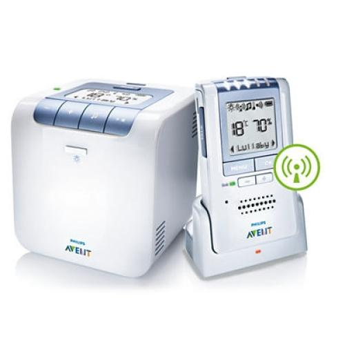 SCD535/00 Dect Temperature And Humidity Baby Monitor