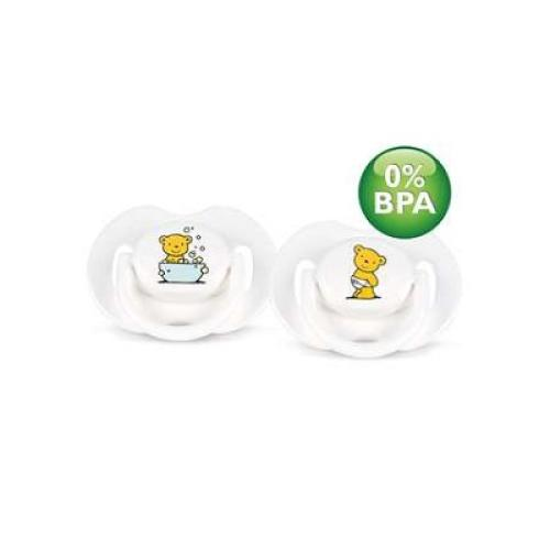 SCF172/20 Avent Classic Pacifiers 0-6M Orthodontic Bpa-free