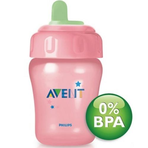 SCF602/01 Avent Non Decorated Cup 260Ml 12M+ Toddler Spout