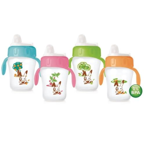 SCF608/17 Avent Avent Decorated Cup 260Ml 12M+ Toddler Spout With Handles
