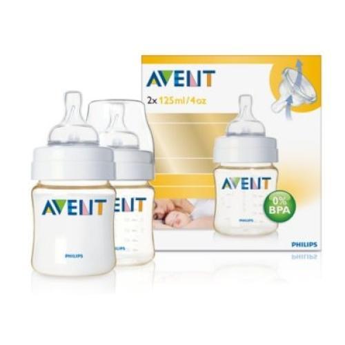 SCF660/27 Avent Feeding Bottle 1 Advanced Classic 125Ml Newborn Nipple