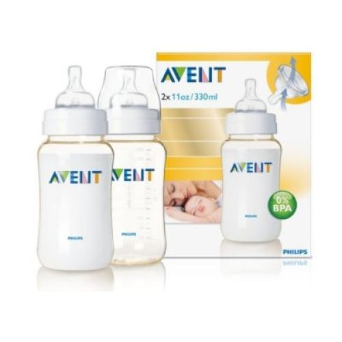 SCF666/27 Avent Feeding Bottle Advanced Classic 11Oz