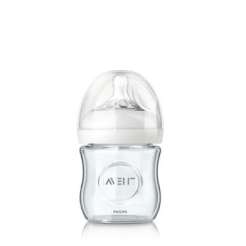 SCF671/17 Avent Glass Feeding Bottle Natural 4