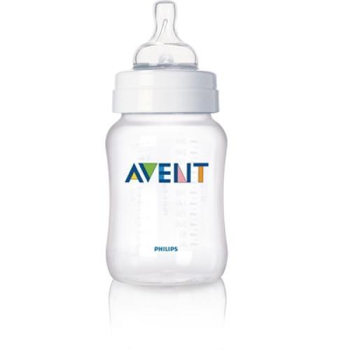 SCF683/19 Avent Feeding Bottle 1 Classic 9Oz Slow Flow Nipple