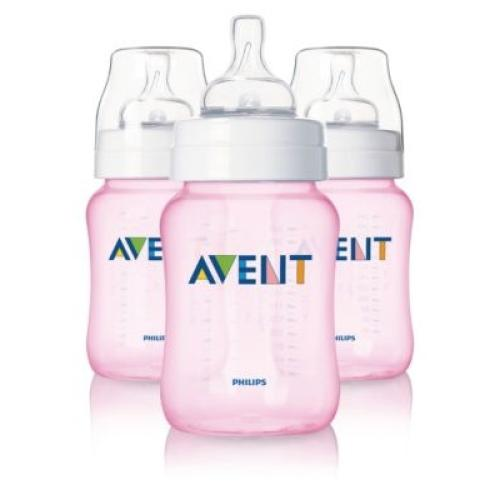 SCF684/17 Avent Feeding Bottle 1 Classic 9Oz Slow Flow Nipple