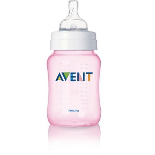 SCF684/57 Avent Feeding Bottle 1 Classic 9Oz Slow Flow Nipple