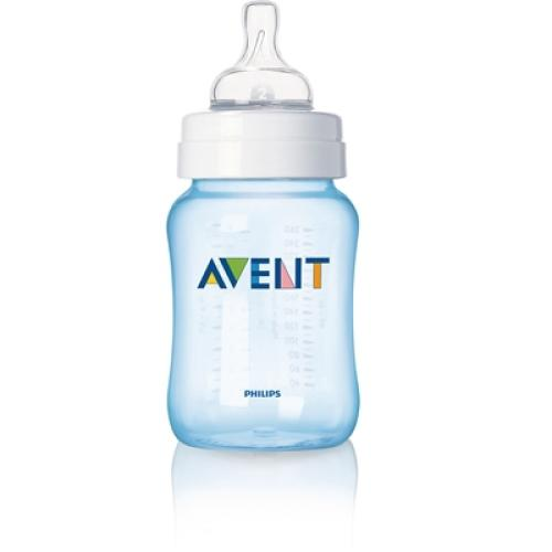 SCF685/57 Avent Feeding Bottle 1 Classic 9Oz Slow Flow Nipple