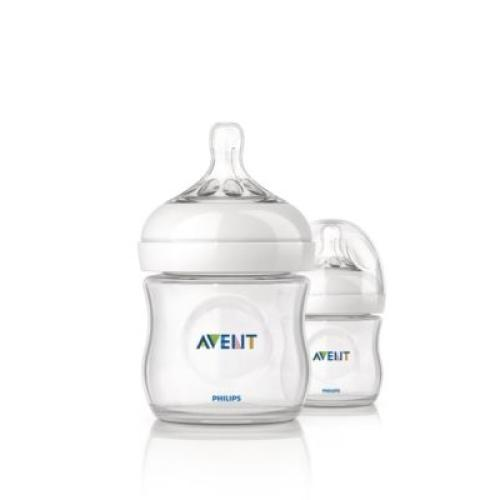 SCF690/27 Avent Feeding Bottle 3 Natural 4Oz/1