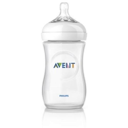 SCF693/17 Avent Feeding Bottle 1 Natural 9Oz/2
