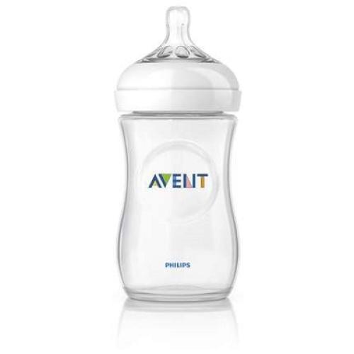 SCF693/57 Avent Feeding Bottle 1 Natural 9Oz/260ml Slow Flow Nipple