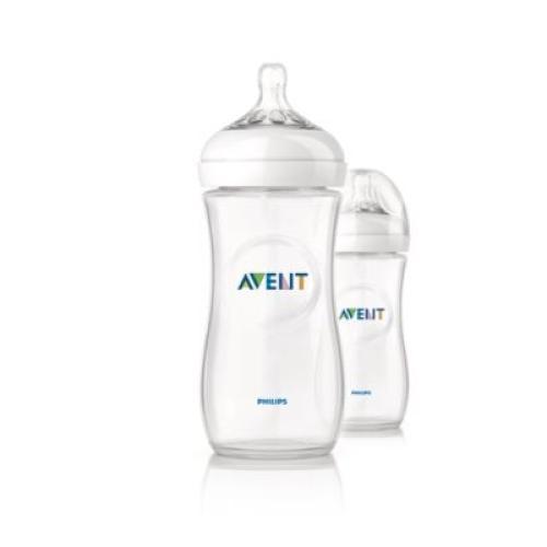 SCF696/27 Avent Feeding Bottle 2 Natural 11Oz