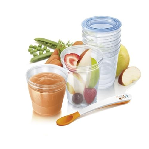SCF720/97 Avent Avent Food Storage Cups Bpa-free