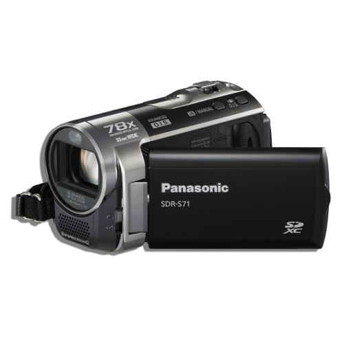 SDRS71 Hdd Sd Camcorder