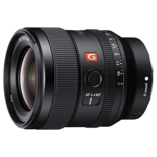 SEL24F14GM Fe 24Mm F1.4 Gm Full-frame E-mount Wide Prime G Master Lens