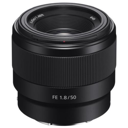 SEL50F18F Fe 50Mm F1.8 Full-frame Prime E-mount Lens