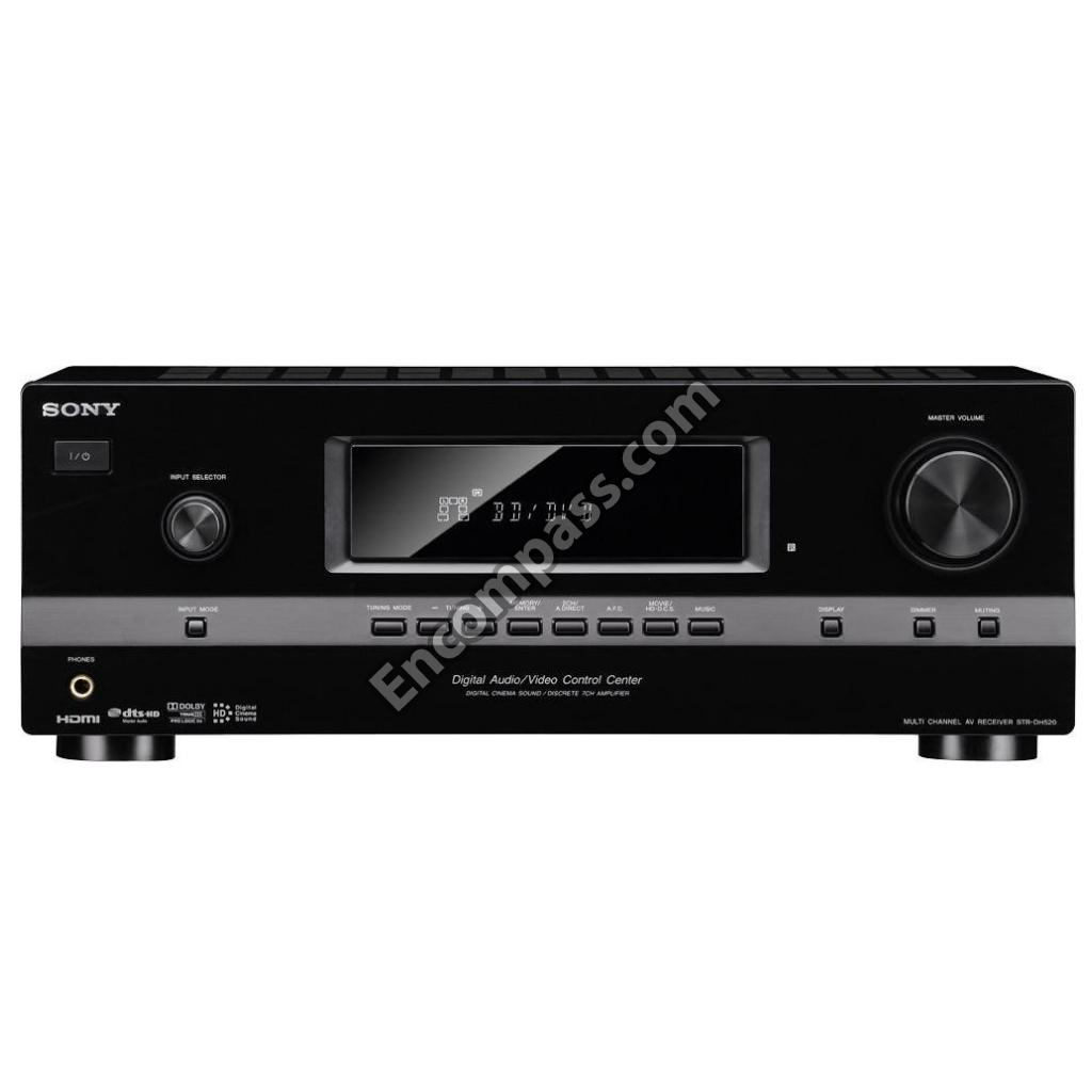 Sony Remote Control RM-AAU104 for Multi Channel AV Receiver AV System STR-DH520