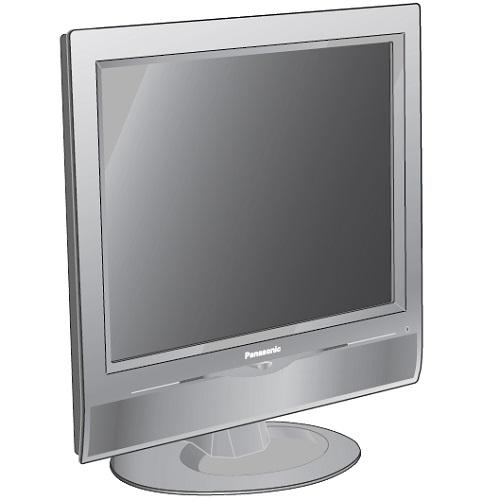 "TC17LA2 17"" Lcd Color Tv"