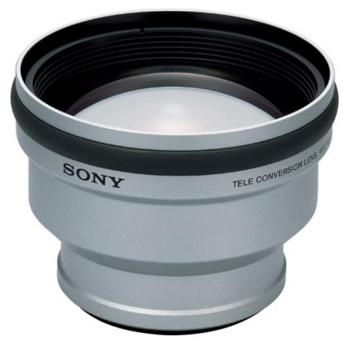 VCLHGD1758 2.0X Telephoto Converter Lens For Sony 58 Mm Diameter Lenses.