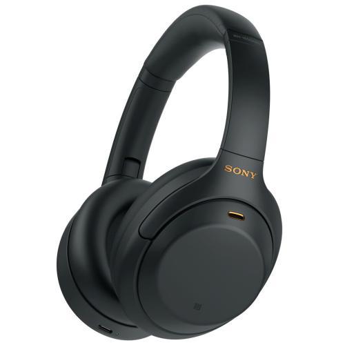 WH1000XM4/B Noise Canceling Overhead Headphones; Black