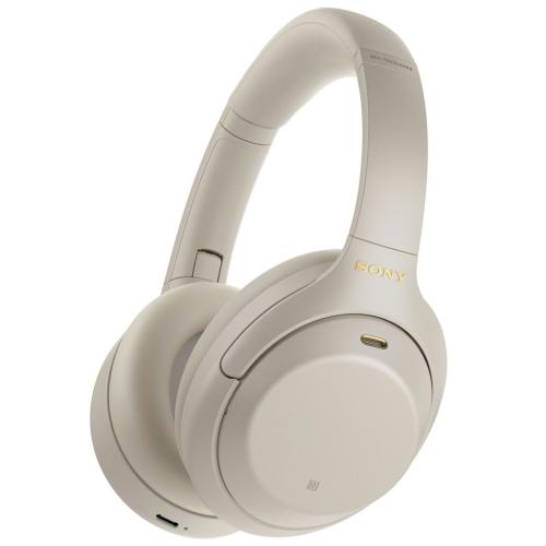 WH1000XM4/S Noise Canceling Overhead Headphones; Silver