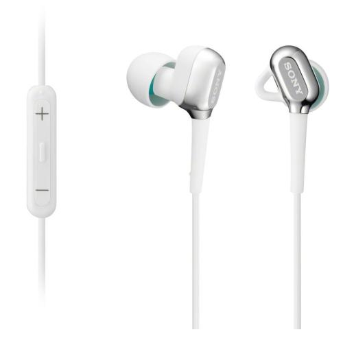 XBAC10IP/WHI Stereo Headphones