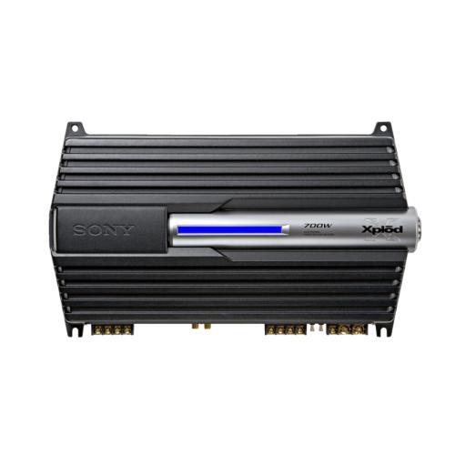 XMZR704 Stereo Power Amplifier.